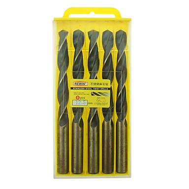 rewin® verktøy rustfritt stål koboltholdige vri drill diameter: 12.5mm med 5pcs / boks