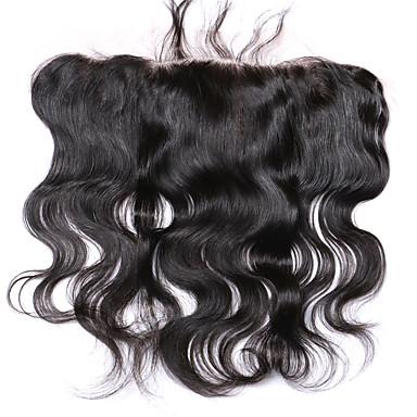 PANSY Hullámos haj Csipke 4x13 lezárása Svájci csipke Emberi haj Ingyenes rész