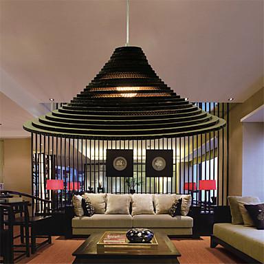 Riipus valot ,  Retro Muut Ominaisuus for LED Paperi Living Room Makuuhuone Ruokailuhuone Työhuone/toimisto Käytävä 1 Lamppu