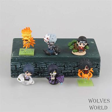 Anime Action Figurer Inspirert av Naruto Hokage PVC 3.5 cm CM Modell Leker Dukke
