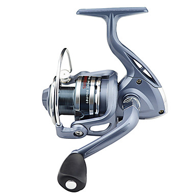 cheap Fishing Reels-Fishing Reel Spinning Reel 5.5:1 Gear Ratio+6 Ball Bearings Right-handed / Left-handed / Hand Orientation Exchangable Sea Fishing / Bait Casting / Ice Fishing - BASIC5000 / Jigging Fishing