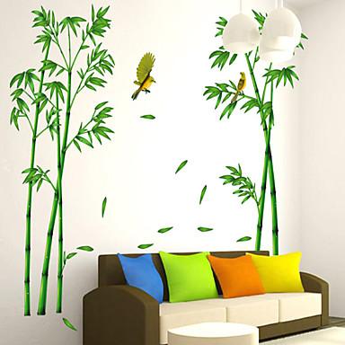 Botanisch Wand-Sticker Flugzeug-Wand Sticker Dekorative Wand Sticker Stoff Abziehbar Haus Dekoration Wandtattoo
