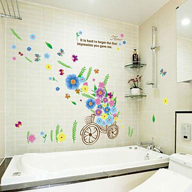 Romantiikka Muoti Wall Tarrat Lentokone-seinätarrat Koriste-seinätarrat materiaali Irroitettava Kodinsisustus Seinätarra