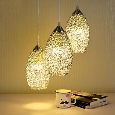 3-Licht Pendelleuchten Raumbeleuchtung - Ministil, 110-120V / 220-240V Glühbirne nicht inklusive / 15-20㎡ / E26 / E27