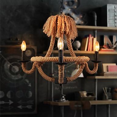 מסורתי / קלסי מנורות תלויות עבור סלון משרד חדר משחק חניה AC 100-240V נורה אינה כלולה