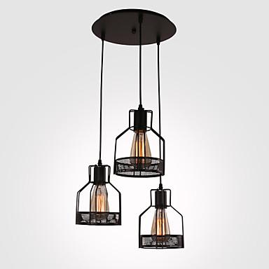מנורות תלויות ,  סגנון חלוד/בקתה צביעה מאפיין for סגנון קטן מתכת חדר אוכל חדר עבודה / משרד חדר משחקים מוסך