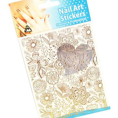 1 Nail Art Decoration tekojalokivi Pearls Kukka Nail Art Design