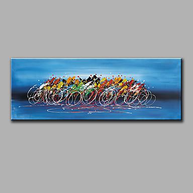 Handgemalte Stillleben Horizontal, Modern Segeltuch Hang-Ölgemälde Haus Dekoration Ein Panel
