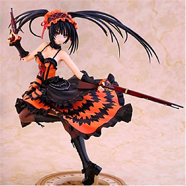 Anime Action-Figuren Inspiriert von Date A Live Kurumi Tokisaki PVC 23 CM Modell Spielzeug Puppe Spielzeug
