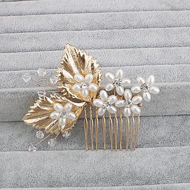 helmi hiukset kammat headpiece häät juhla tyylikäs feminiininen tyyli