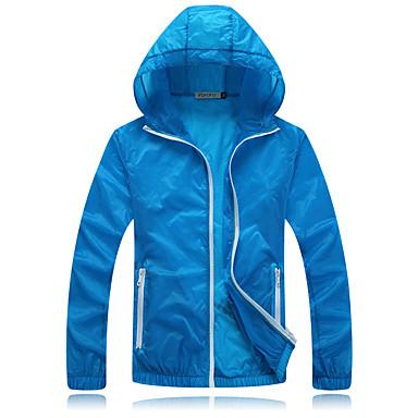 Unisex Oberteile Camping & Wandern Angeln Übung & Fitness Radsport/Fahhrad Laufen UV-resistant Atmungsaktiv Frühling Sommer Herbst