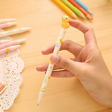 Penn Penn Kulepenner Penn, Plast Blå blekk farger For Skole materiell Kontorrekvisita Pakke med