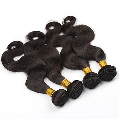 Maláj haj Hullámos haj Emberi haj sző 3 darab 0.3