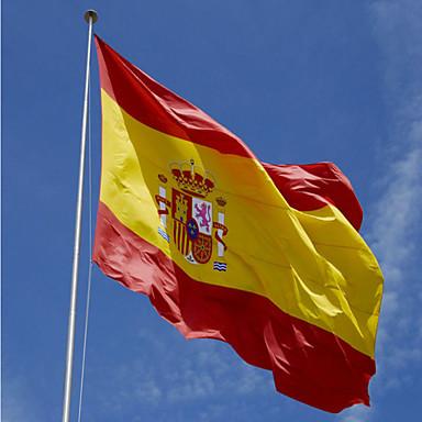 1pc Spanien-Flagge 3 x 5 ft espana Flagge. spanische Flagge 90 x 150 cm Spanien Banner