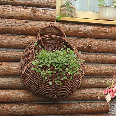 Künstliche Blumen 1 Ast Pastoralen Stil Vase Wand-Blumen / Einzel Vase