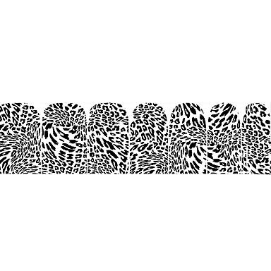 נייל ארט מדבקה קוסמטיקה איפור נייל אמנות עיצוב
