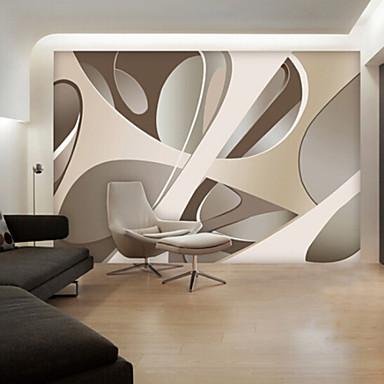 Wandgemälde Vinyl Wandverkleidung - Klebstoff erforderlich Bemalt
