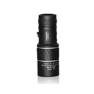 16X52 mm Monokulær Høy definisjon Vanntett Tak Prisme Nattsyn Generelt bruk Helbelagt 66m/8000m Sentralt fokus Uavhengig fokus