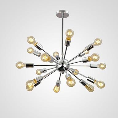 QINGMING® Sputnik Vedhæng Lys Op Lys Krom Metal Ministil 110-120V / 220-240V Pære ikke Inkluderet / E26 / E27