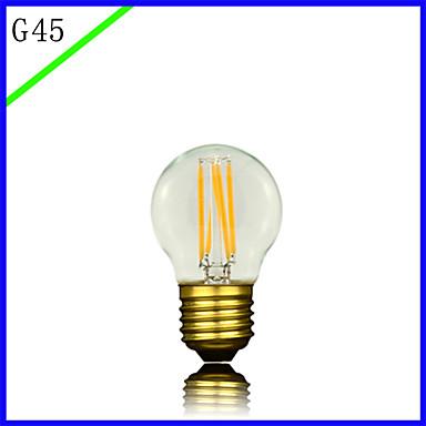 1pc 3 E27 E26/E27 E26 B22 G45 Toplo bijelo 2300 K LED filament žarulje 220V 85-265V