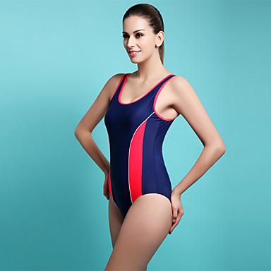 Damen Sport-Bademode Rasche Trocknung Tactel Einteiler Kleider Übung & Fitness Schwimmen Surfen