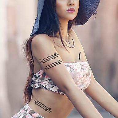Temporäre Farben Karton Damen Herren Erwachsener Teen Flash-Tattoo Temporary Tattoos