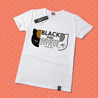 Inspiriert von Natsume Yuujinchou Natsume Takashi Anime Cosplay Kostüme Cosplay-T-Shirt Druck Kurzarm T-shirt Für Unisex