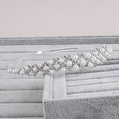 Perle Pandebånd med 1 Bryllup / Speciel Lejlighed / Afslappet Medaljon