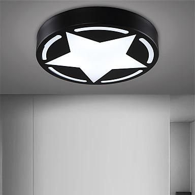 CXYlight Unterputz Moonlight Lackierte Oberflächen Metall Acryl Ministil, LED 110-120V / 220-240V Wärm Weiß / Weiß LED-Lichtquelle enthalten / integrierte LED