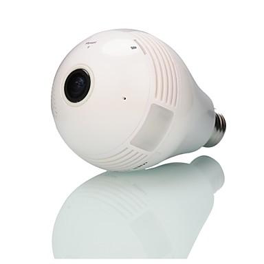 Strongshine® Built-in Scheda Di Memoria Da 32 Gb 960p Rete Domestica Wireless (wifi) Tipo Di Monitoraggio Fisheye Telecamera Panoramica A 360 Gradi #04952085