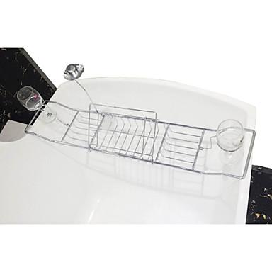 Badezimmer Regal / Zahnbürstenhalter / Duschkorb,Modern Chrom Wandmontage