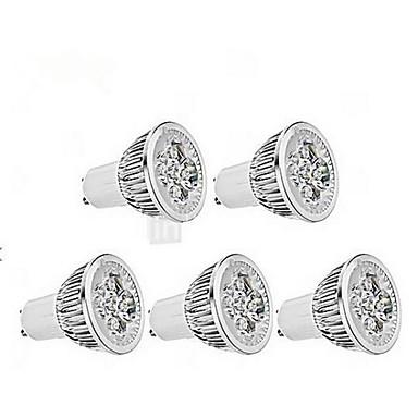 4W GU10 Точечное LED освещение MR16 1 350-400 lm Холодный белый AC 85-265 V 5 шт.