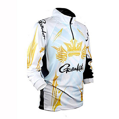 Majice Camping & planinarenje Ribolov Sposobnost Biciklizam/Bicikl Trčanje Muškarci Žene UniseksQuick dry Ultraviolet Resistant Moisture