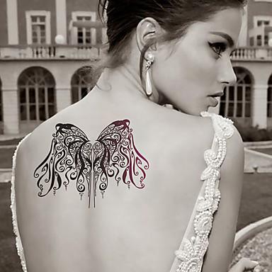 Tatuointitarrat Eläinsarja piirrossarjan Piirretty Naisten Miesten Aikuinen Teini Flash Tattoo väliaikaiset tatuoinnit