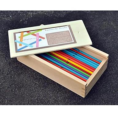Puzzle Spielzeug Für Geschenk Bausteine Model & Building Toy Holz Orange Spielzeuge