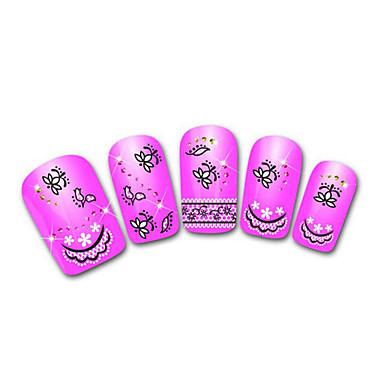 nydelig lilla snøleopard blonder spiker smykker