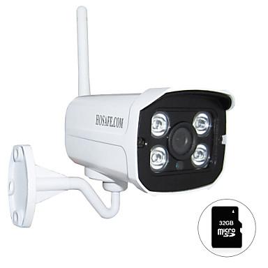 1.3 MP Bala Ao ar Livre with Dia Noite / Infravermelho 32GB(Prova-de-Água / Dia Noite / Detector de Movimento / Dual Stream / Acesso