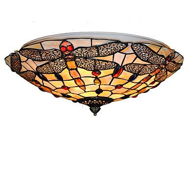 Tiffany Unterputz Für Wohnzimmer Schlafzimmer Esszimmer Studierzimmer/Büro Kinderzimmer Eingangsraum Spielraum Korridor Glühbirne nicht