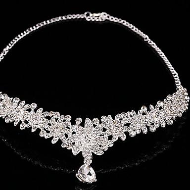 Damen Strass Legierung Kopfschmuck-Hochzeit Besondere Anlässe im Freien Kopfkette 1 Stück