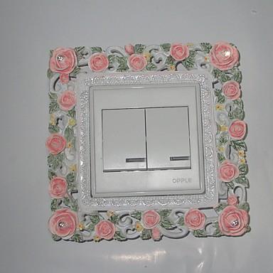Botanisch Wand-Sticker 3D Wand Sticker,Resin 15*15*2cm