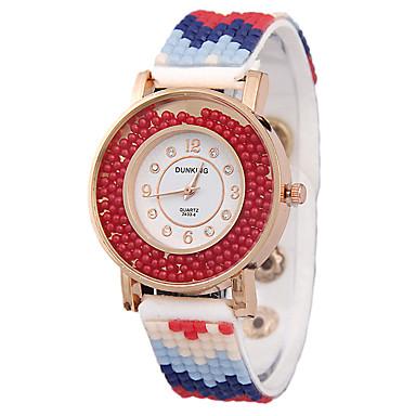Damenmode Gürtel Diamante Uhren Quarzuhren Bohren Uhren fließen