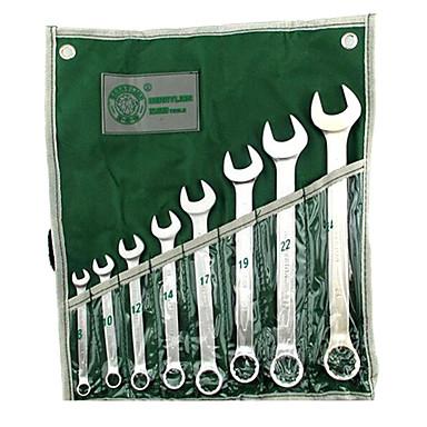 berrylion® 8 סטים של מפתחות שילוב פתיחת כלי יד חומרת ערכת ברגי סט