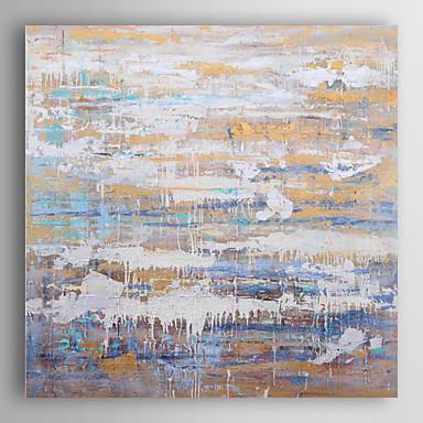 handgemaltes Ölgemälde abstrakten Stagnation und fließen mit gestreckten Rahmen 7 Wand ARTS®