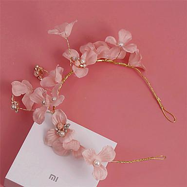 messing imitation perle strass stoff stirnbänder kopfstück eleganten stil
