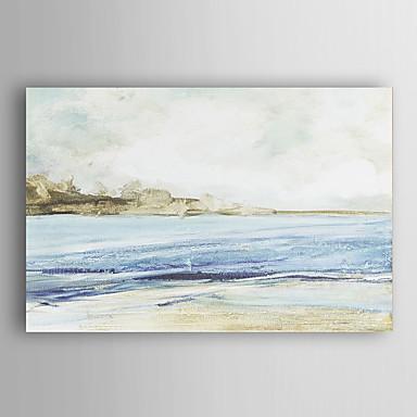 יד נוף ימי מופשט נוף ציור צייר שמן עם arts® קיר מסגרת 7 נמתחה