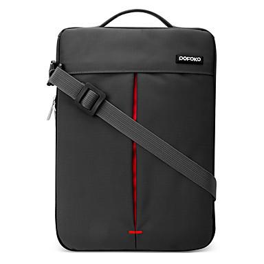 pofoko® 11/13 polegadas oxford tecido laptop manga vermelho / cinza / khaki