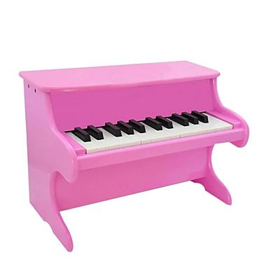Holz rot / weiß / schwarz / pink Klavier für alle Kinder Musikinstrumente Spielzeug