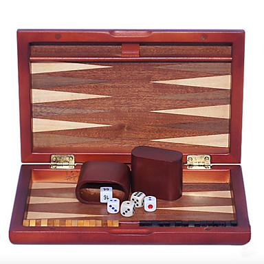 9 polegadas de superfície de pêra baccarat gastos xadrez gamão de madeira de madeira maciça dice copo de dados acrílico