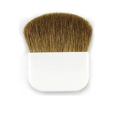 Pincel para Blush Pêlo Sintético Profissional Portátil Plástico Rosto