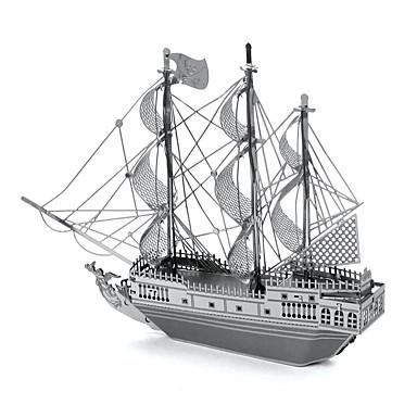 voordelige 3D-puzzels-3D-puzzels Legpuzzel Metalen puzzels Modelbouwsets Zwarte parel Metaallegering Metaal Valentijnsdag Verjaardag Kinderdag Geschenk
